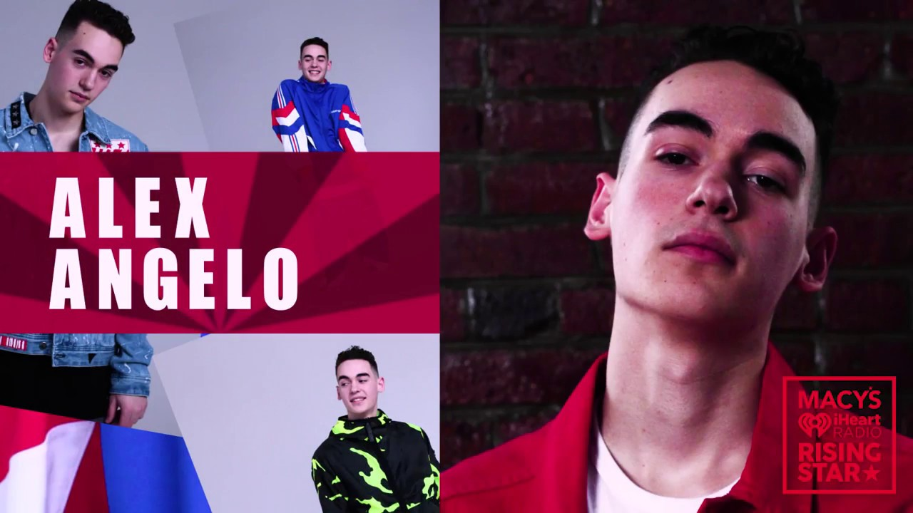 VOTE FOR ALEX ANGELO! MACYS IHEARTRADIO RISING STAR COMPETITION