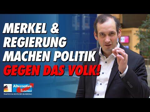 Merkel und Regierung machen Politik gegen das Deutsche Volk