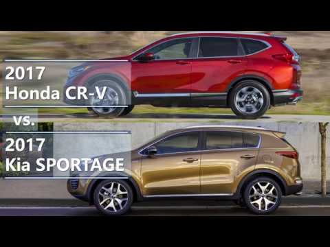 2017 honda cr v vs 2017 kia sportage technical comparison youtube. Black Bedroom Furniture Sets. Home Design Ideas