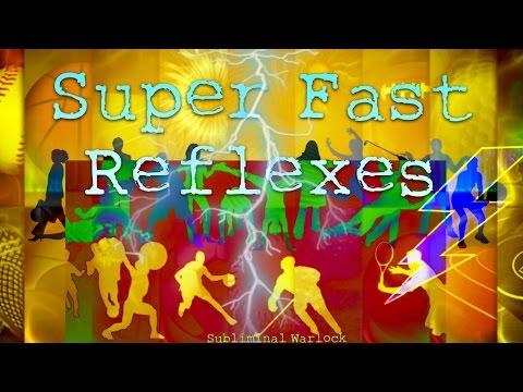 Get Super Fast Reflexes Now! Subliminal Frequencies Hypnosis Biokinesis Binaural