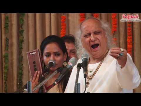 Pandit Jasraj - Vocal (Saptak Annual Festival 2017)