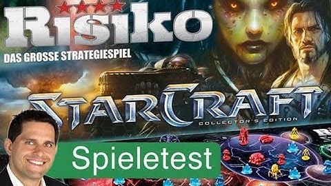Risiko: Starcraft (Brettspiel) / Anleitung & Rezension / SpieLama