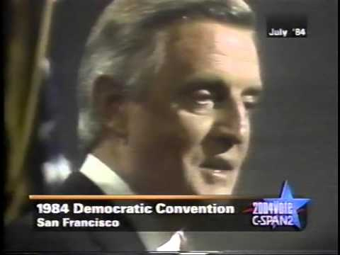 1984 Walter Mondale Democratic Convention Acceptance Speech