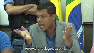 Vereadores vão parar na Central de Flagrantes após discussão com sargento da PMGO