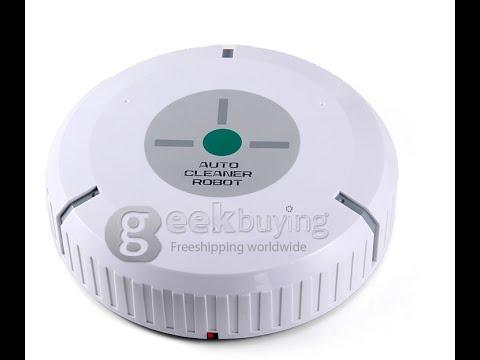 Auto Robot Vacuum Cleaner Smart Dust Cleaner YouTube - Robotic floor washer reviews