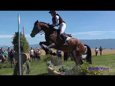 087XC Erin Sylvester on Paddy the Caddy CCI3* Cross Country Rebecca Farm July 2017