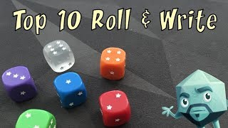 Top Ten Roll & Write Games - with Zee Garcia