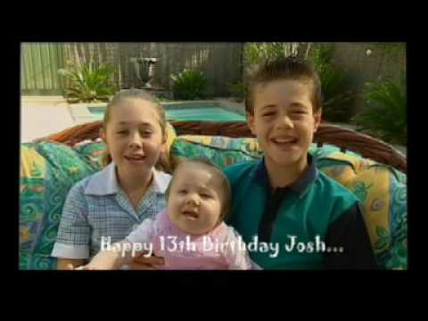 A message to our Cousin Josh ARC