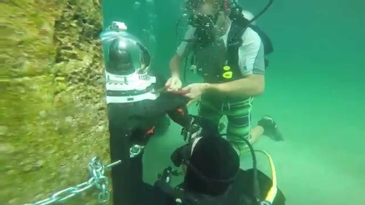 Underwater Pier Camera
