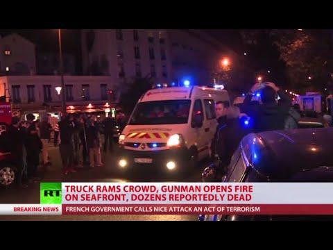 LIVE COVERAGE: 84 killed, over 100 injured after Nice's Bastille Day attack (streamed live)