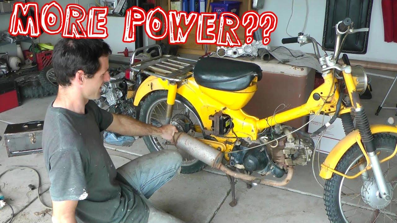 Big Bore Honda Ct90 Trail 125 Part 1 Building It Youtube