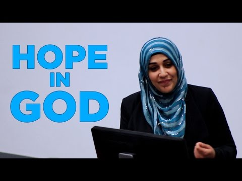 Hope in God (Allah)