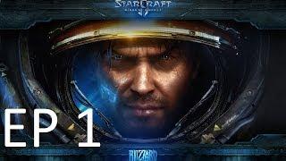 STARCRAFT 2 WINGS OF LIBERTY EP1 # CARAMBA, JÁ TAVA NA HORA !#!