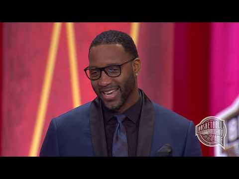 Tracy McGrady's Basketball Hall of Fame Enshrinement Speech