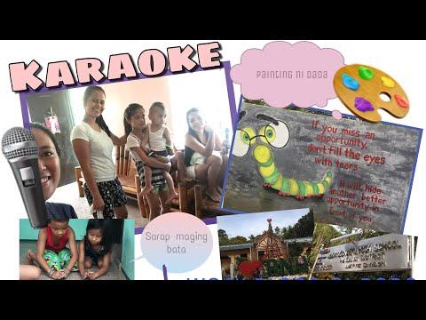 Karaoke + Painting ni Dada | VLOG 34