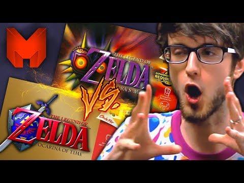 The BEST N64 Games? Ocarina of Time Vs Majora\'s Mask - Madness (The Legend of Zelda)