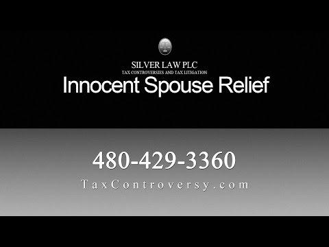 Silver Law Innocent Spouse Representation