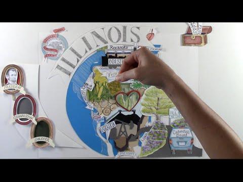 Microcosm (Illinois) - #50StatesAlbum - #Paperslide Music Video