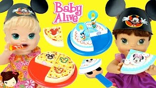 Baby Alive Come Pastel Pizza - Play Doh Juguete Fiesta Cumpleanos La Casa de Mickey