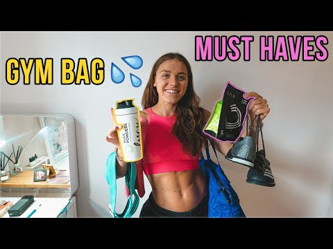 Gym Bag ESSENTIALS for WOMEN!