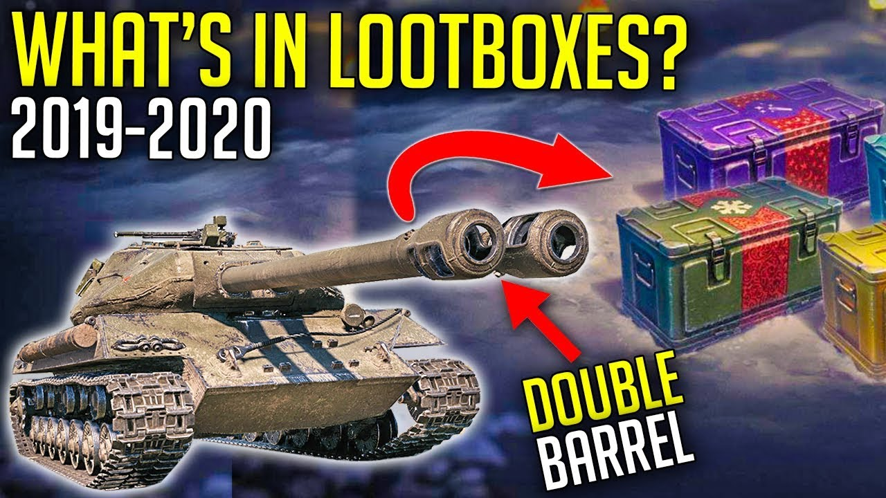 Wot 2020 Christmas Skins E 75 TS and Double Barrel in Loot Boxes? | World of Tanks