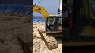 山功沙利挖土機影片