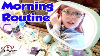 🌈 My Morning Routine for School | Madi Maureen Vlogs 👧🏼
