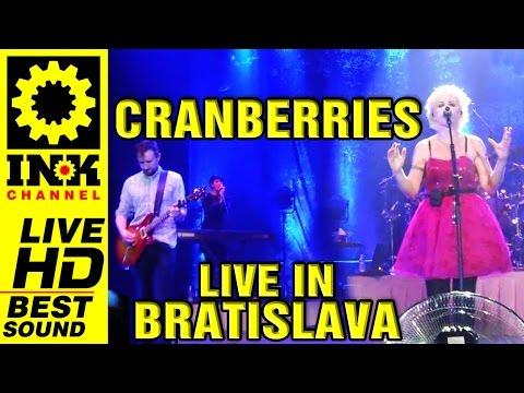 CRANBERRIES Bratislava 13-10-2012 Full