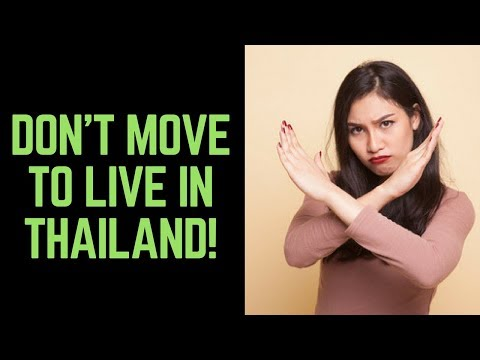 23 Reasons: Don't Move to Thailand