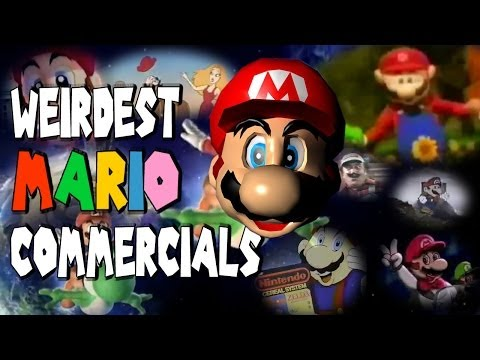 Weirdest Mario commercials