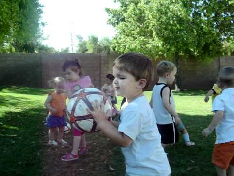 Young Children Enjoy Soccer at Anderson Preparatory Academy