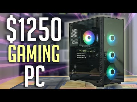 $1250 Gaming PC Build Guide! (2020)