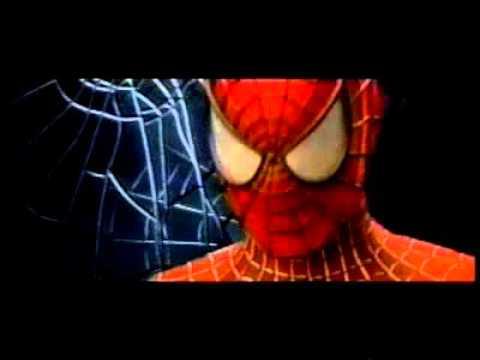 4274e8fec8a Spiderman 2002 teaser trailer (early, original version featuring Peter's  mechanical webslingers)