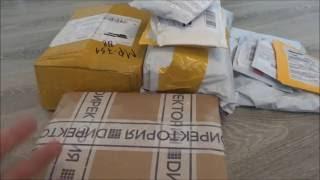 Распаковка посылок с AliExpress Unboxing третья в августе 2016
