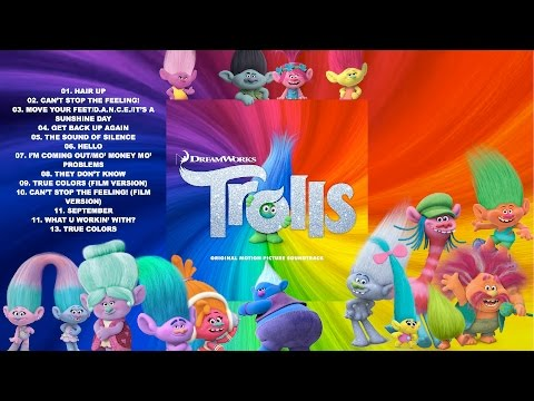 01. Hair Up (Justin Timberlake, Gwen Stefani, and Ron Funches) - TROLLS