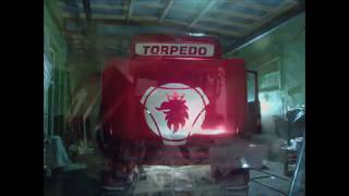 Scania V8 Torpedo Ratransportas