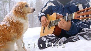 Paradise - Coldplay (Fingerstyle Guitar)