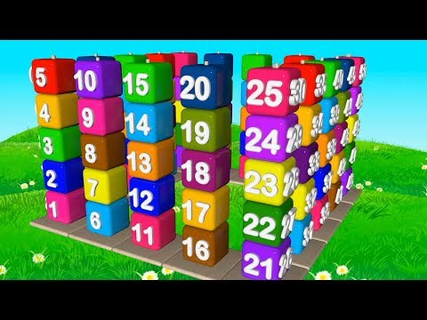 Number song 1-100 for children | Counting numbers | New Version