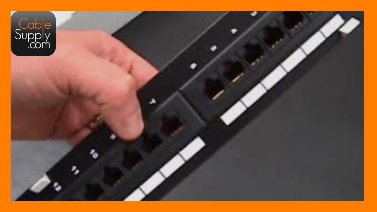 Part# SAM-D8 Suttle CAT5e 8-port Voice//Data Patch Module 3 pcs