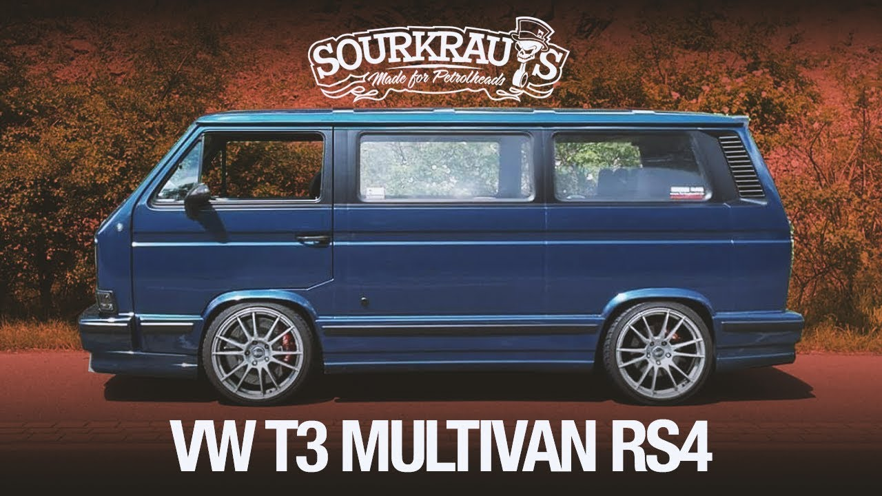 video brutaler vw t3 mit rs4 audi motor sourkrauts. Black Bedroom Furniture Sets. Home Design Ideas