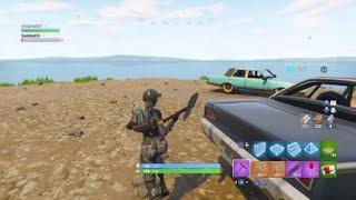 Fortnite i got on sporn island