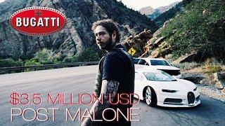 Bugatti Chiron is worth over $3.5 Million USD | Post Malone Saint Tropez