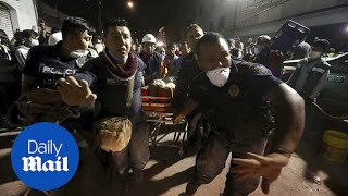 Mexico earthquake: Many die in school collapse - Daily Mail