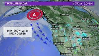 Major storm affects Thanksgiving holiday travel in California: Prepare for snow, rain, and wind