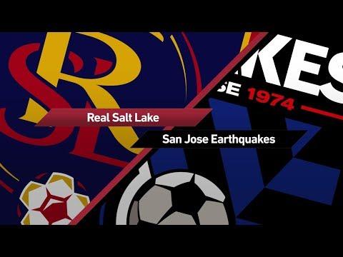 Highlights: Real Salt Lake vs. San Jose Earthquakes | August 23, 2017