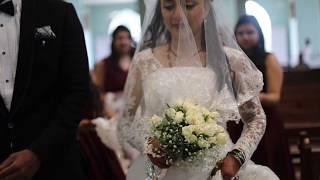 FLUTTERING HEARTS- Richard + Ashwini Christian Wedding