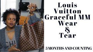 Louis Vuitton Graceful MM Review | Wear and Tear | DreLux TV