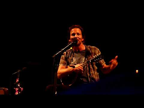 Eddie Vedder – The Coupon Story (Sept 9, 2017)