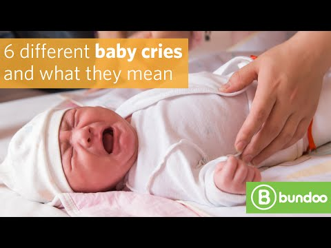 6 different baby cries and what they mean