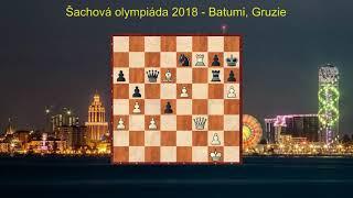 Šachová olympiáda 2018 - report ze 8 . kola
